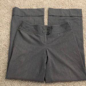 Ann Taylor Loft Petites Wide Leg Cuff Bottom Pant